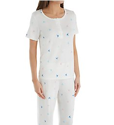 Shadowline Before Bed Placket Front PJ Set 68117