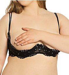 Shirley of Hollywood Plus Size Sequin Embroidered Shelf Bra X380