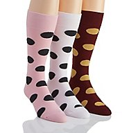 Stacy Adams Fun Dots Combed Cotton Socks - 3 Pack S740HR-G
