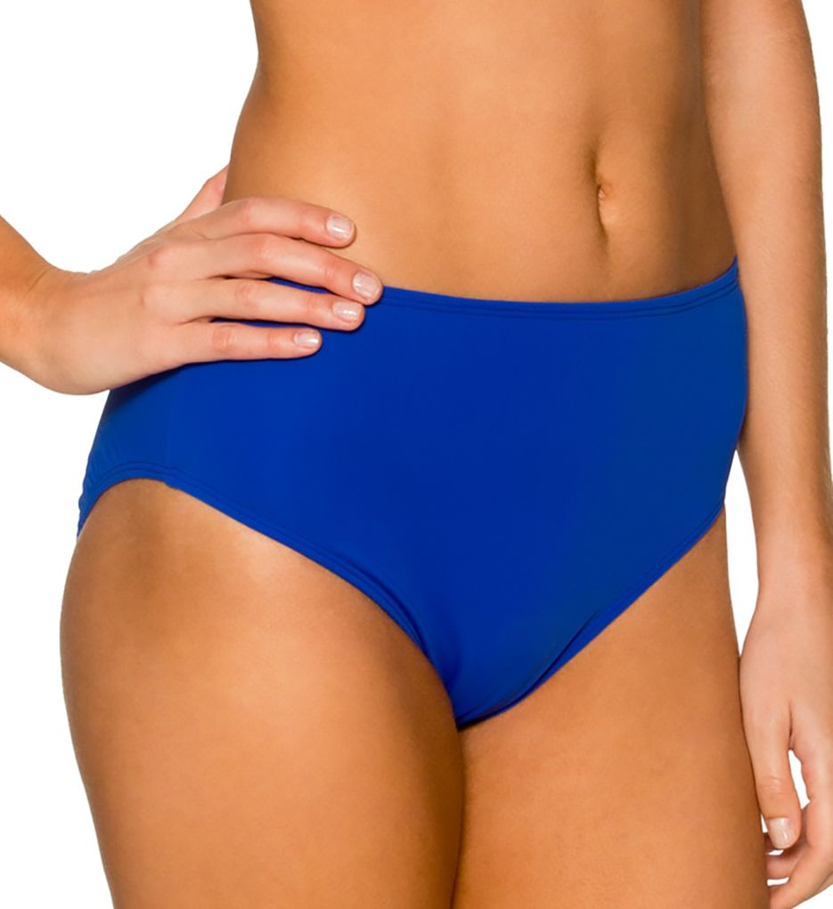 Sunsets The High Road High Waist Brief Swim Bottom 30B