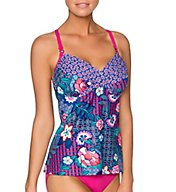 Swim Systems Shangri La Crossroads Underwire Tankini Swim Top C792SA