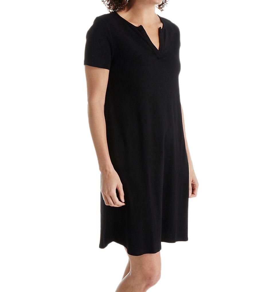 Three Dots Cotton Cheryl Short Sleeve Dress AA5589