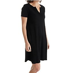 Three Dots Cotton Cheryl Short Sleeve Dress AA5589