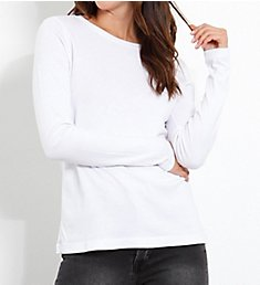 Three Dots EZ Fit Long Sleeve Crew Neck Tee AJ2819
