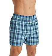 Tommy Bahama Big Man Plaid 100% Cotton Woven Boxer 2151309X