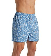 Tommy Bahama House 100% Cotton Woven Boxer 2171314