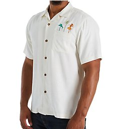 Tommy Bahama Swizzle Sizzle Back Panel Embroidered Shirt T323397