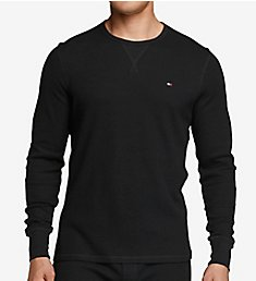 Tommy Hilfiger Thermal Long Sleeve Crew Neck Shirt 09T3585