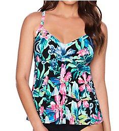Trimshaper Romance Rylee Tankini Swim Top 6527277