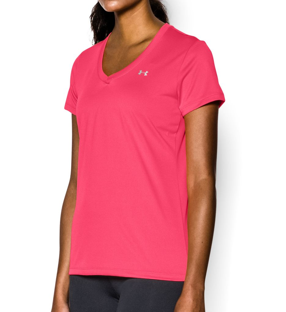 Under Armour UA Tech Solid V-Neck Short Sleeve T-Shirt 1255839