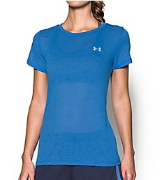 Under Armour UA Tech Slub Short Sleeve Crew Neck T-Shirt 1284419