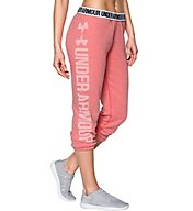 Under Armour Favorite Fleece Foldover Waistband Capri 1295095