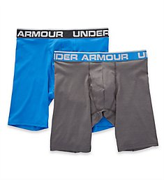 Under Armour Tech Mesh 9 Inch Boxerjocks - 2 Pack 1306481