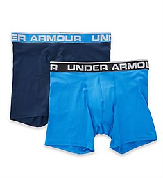 Under Armour Tech Mesh 6 Inch Boxerjocks - 2 Pack 1306483