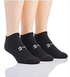 Under Armour Training Cotton No Show Socks - 3 Pack U672P3
