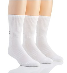 Under Armour Training Cotton Crew Socks - 3 Pack U675P3