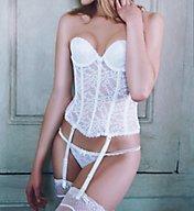 Va Bien La Belle Femme Low Plunge Lacey Bustier 7474