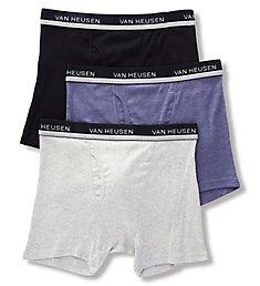 Van Heusen Core Cotton Boxer Briefs - 3 Pack 00CPB02ZB