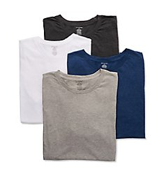 Van Heusen 100% Cotton Crew Neck T-Shirt - 4 Pack 00CPT12Z