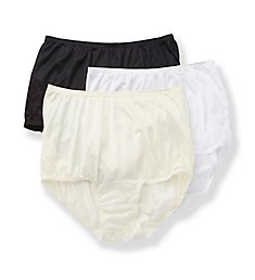 Vanity Fair Lace Nouveau Brief Panty - 3 Pack 13001PK