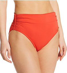 Vince Camuto Sanremo Shades Convertible High Waist Swim Bottom V21282