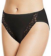Wacoal Hi-Cut Lace Trim Brief Panties 89371